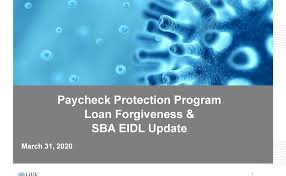 Paycheck Protection Program (PPP) Information