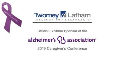 Twomey Latham Official Exhibitor Sponsor of the 2019 Alzheimer's Association Caregiver&#821...