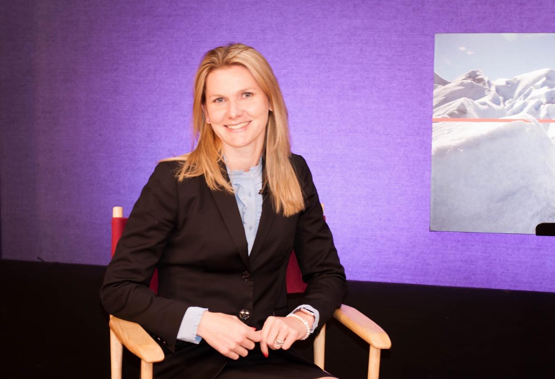 Katerina Grinko Associate attorney on East Hampton LTV set