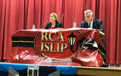 Partner Patrick Fife Co-Moderated the Islip Civic Coalition's Meet the Candidates Night