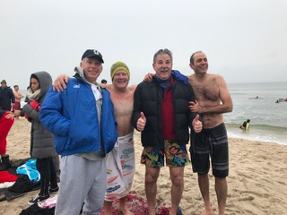 Twomey partners and friends at polar plunge event