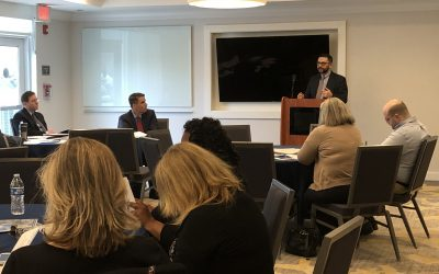 """Business Law Team Presents """"Business Law 101"""" at Riverhead Chamber of Commerce Meeting"""