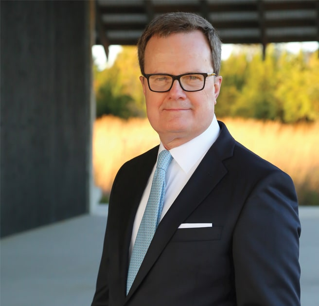 John F Shea senior partner attorney profile headshot