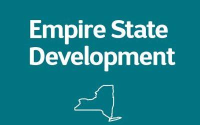 Update from New York: Empire State Development