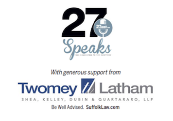 "Twomey Latham Proudly Partners with The Express New Group:  ""27Speaks"" Weekly Podcast"