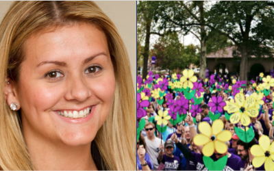 Christina Noon, Co-Chair of 2021 Walk to End Alzheimer's – Yaphank, NY