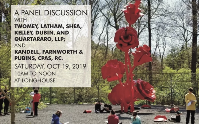 Planned Giving Panel Discussion At LongHouse Reserve