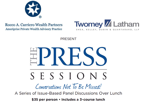 Twomey Latham and Press News Group Sponsor The Press Sessions