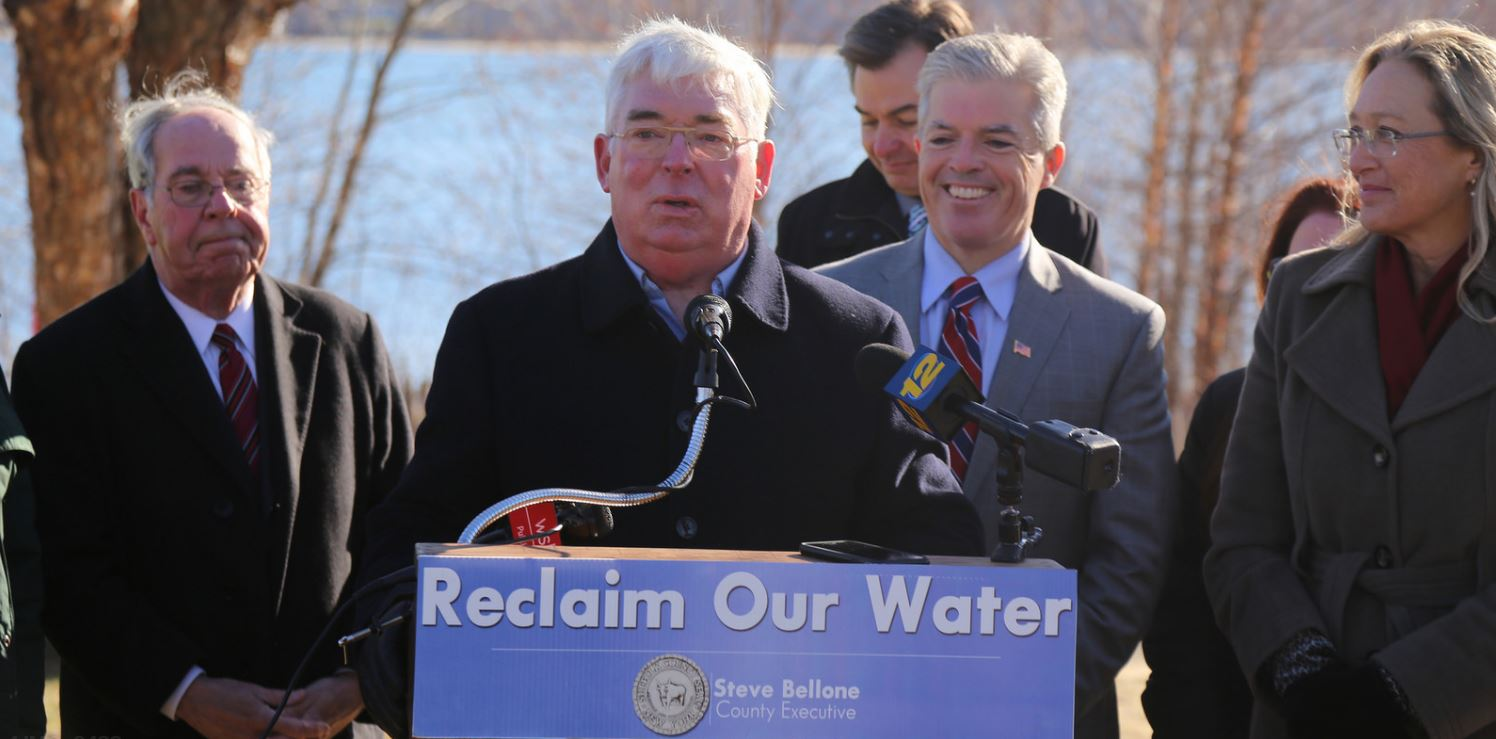 Steve Bellone Suffolk County Executive press conference
