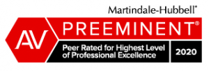Martindale-Hubbell Preeminent