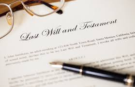 paper last will and testament with pen pitfalls of online wills