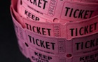 carnival ticket roll charitable auctions