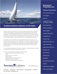 Trusted Business advisors Twomey Latham